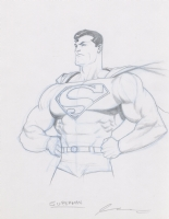 Superman by Ariel Olivetti Comic Art